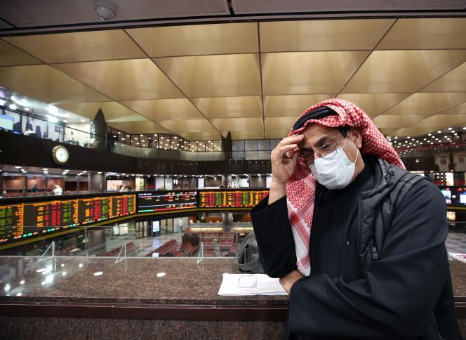 A la Bourse du Koweït, le 1ermars.