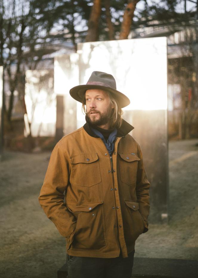 Jean-Martin Fortier, agriculteur québécois, à Paris, le 24janvier.