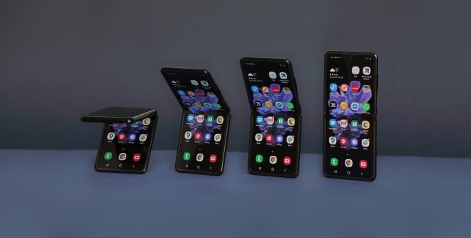 Le Flip, l'autre mobile pliable de Samsung, est plus compact qu'un smartphone classique : on le glisse très facilement en poche. Mais son écran n'est pas plus vaste que celui d'un smartphone classique.