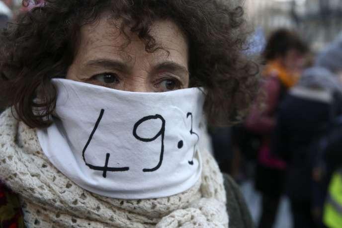 Manifestation à Marseille, le 2 mars.