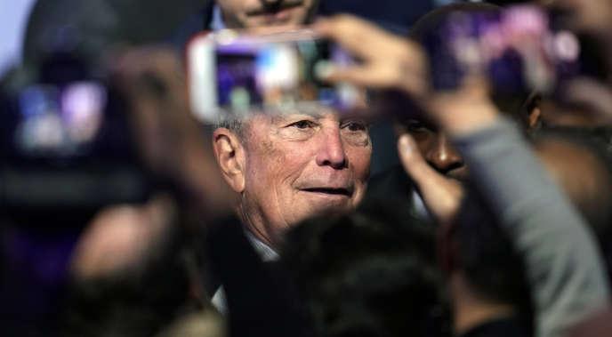 Michael Bloomberg au Buffalo Soldiers National Museum de Houston, le 13 février.