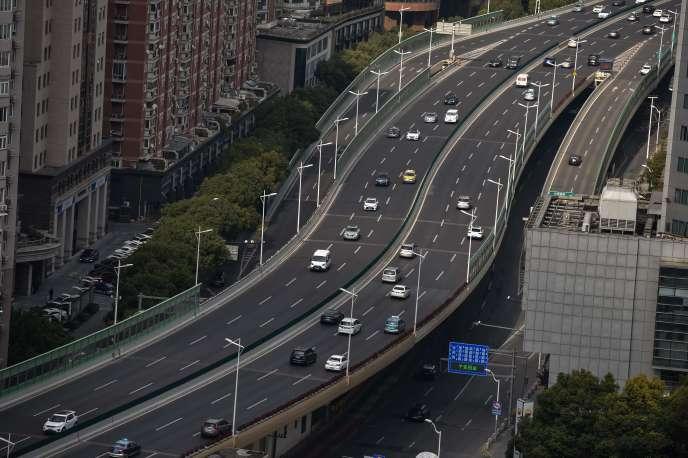 A Shanghaï, le 2 mars.