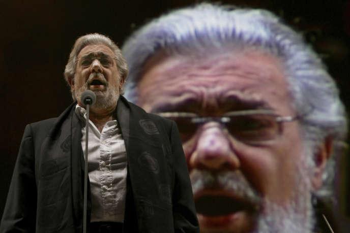 Placido Domingo, en décembre 2009, à Mexico.