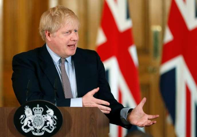 Boris Johnson, à Londres, le 3 mars.
