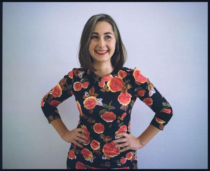 Lilas Louise Maréchaud, la créatrice du podcast «Fleur d'avocat».