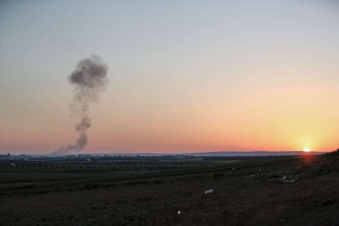Avec l'aide de Moscou, le régime syrien mène depuis décembre une offensive d'envergure contre la région d'Idleb et a pu reconquérir la moitié de la province, selon l'Observatoire syrien des droits de l'homme (OSDH)