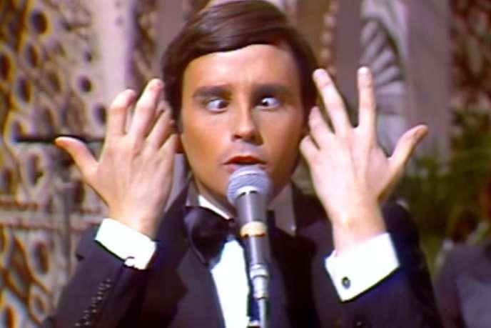 L'humoriste et imitateur Thierry Le Luron (1952-1986).