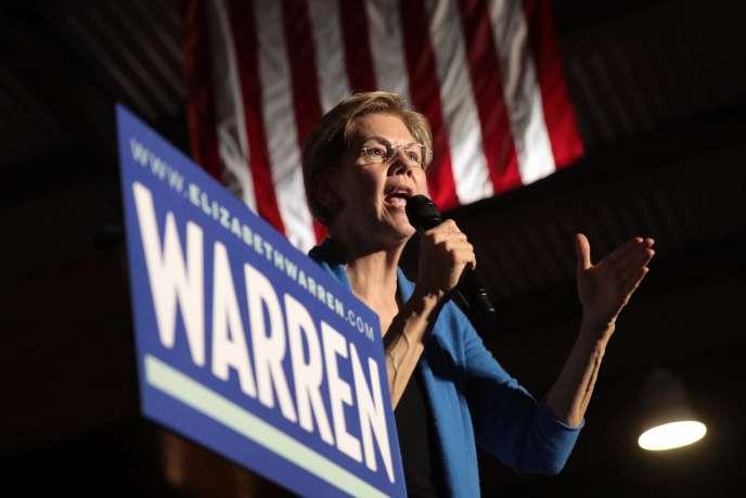 Ancienne professeure en droit, pourfendeuse de Wall Street, seule femme pouvant encore peser dans la course à l'investiture démocrate avant mardi, Elizabeth Warren semblait avoir perdu toute chance de devenir la première présidente des Etats-Unis.