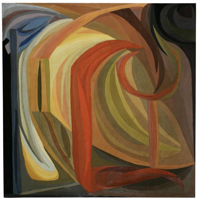 « Composition » (1911), d'Otto Freundlich, huile sur toile.