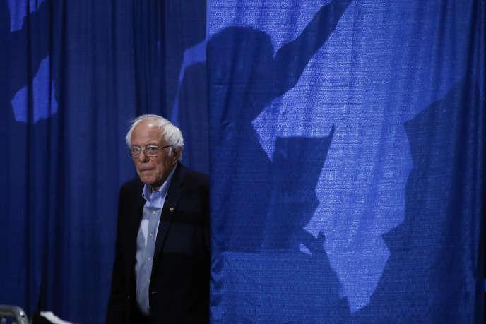 Bernie Sanders, mardi 3 mars, à Essex Junction, dans le Vermont.