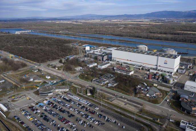 Vue aérienne de la centrale nucléaire de Fessenheim (Haut-Rhin), le 21 février.