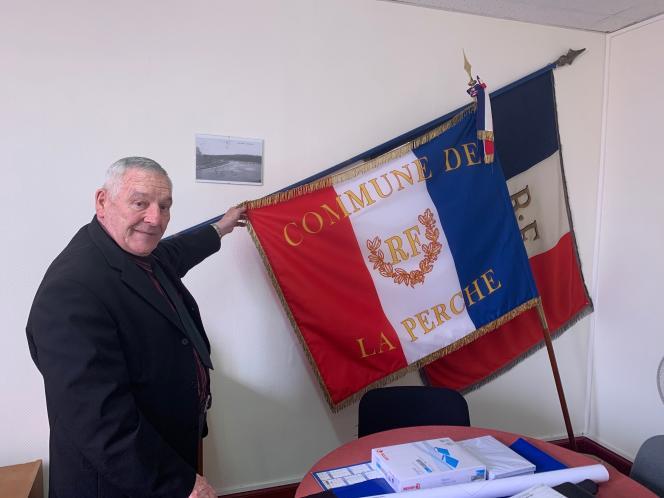 Jacques Rossi, le maire de La Perche (Cher).