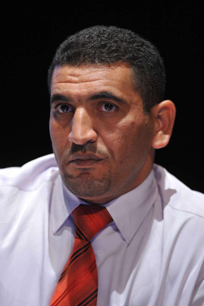 Karim Tabbou en août 2011.