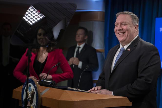 Le secrétaire d'Etat Mike Pompeo, le 5 mars, à Washington.