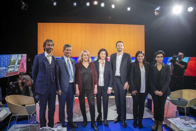 Municipales 2020 A Paris La Bataille Des Trois Candidates Lors