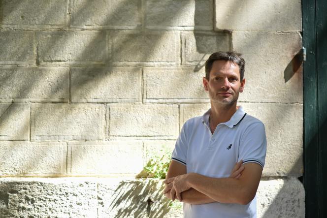Sam Stourdze, à Arles, le 4 juillet 2017.