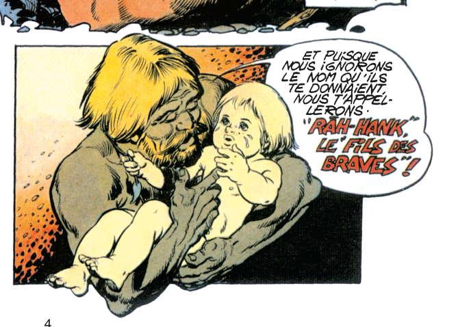 Extrait de l'épisode« L'Enfance de Rahan».