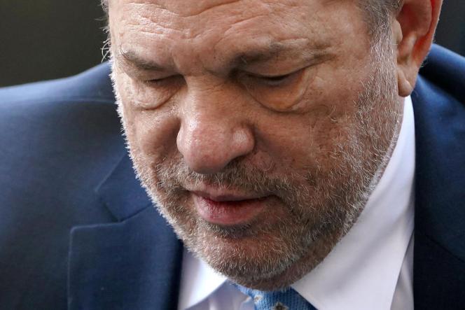 Harvey Weinstein, lors de son procès, à New York, le 24 février.