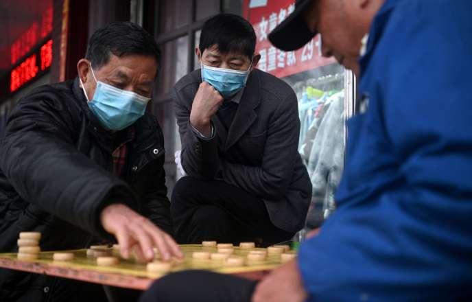 A Jiujiang, le 6 mars.