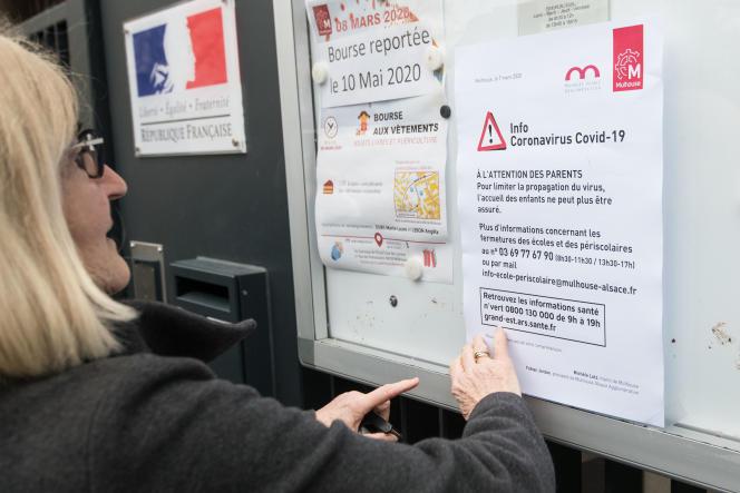 Les écoles du Haut-Rhin ferment pendant au moins deux semaines à compter devendredi 6 mars pour lutter contre la propagation de l'épidémie.