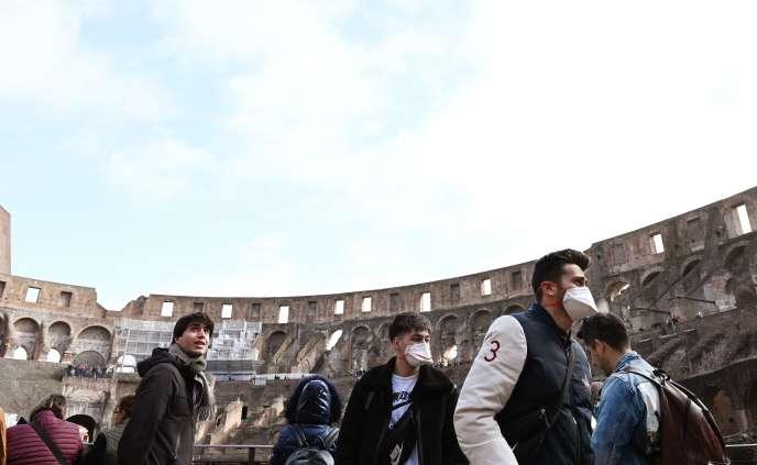 Au Colisée de Rome, le 5 mars.
