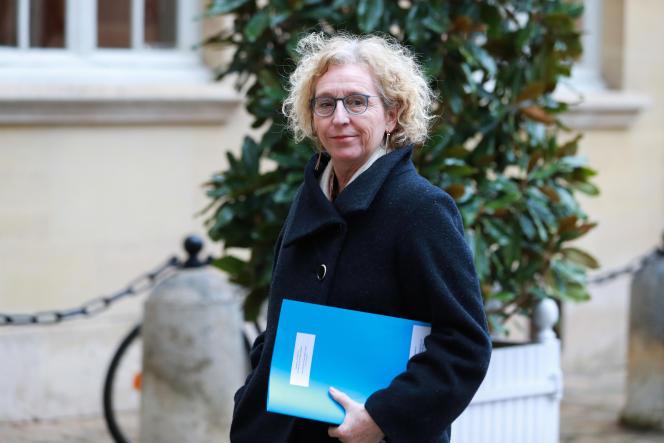 La ministre du travail, Muriel Pénicaud, arrive au palais de l'Elysée, à Paris, le 26 février.