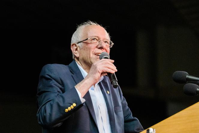 Bernie Sanders, à Phoenix, le 5 mars.