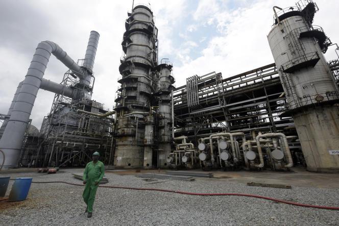 Terminal pétrolier de Port Harcourt, au Nigeria.