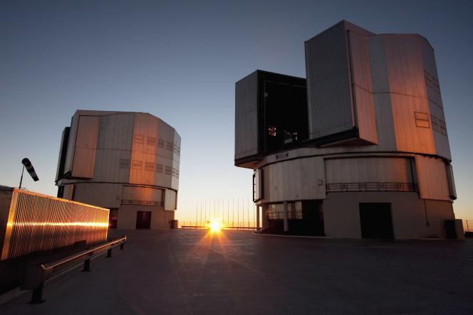 Sur le site du Very Large Telescope, au Chili.