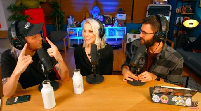 A son lancement, LeLive mettait en avant son casting de superstars de YouTube. En réalité, Cyprien (à droite) est l'un des rares à être encore à l'antenne, une fois par semaine.