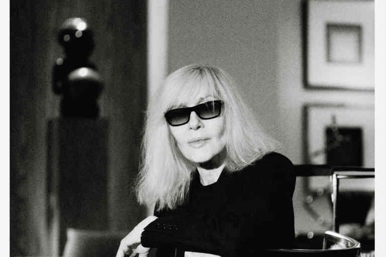 Betty Catroux chez elle à Paris, le 20 février 2020.