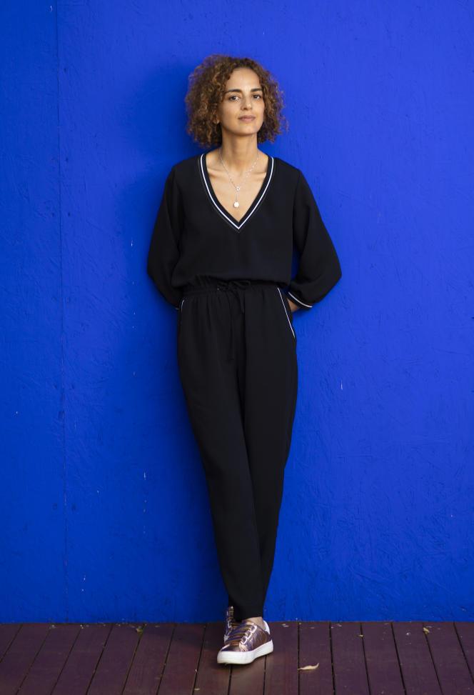 L'auteure franco-marocaine Leïla Slimani à Beverly Hills, Californie, en 2018.