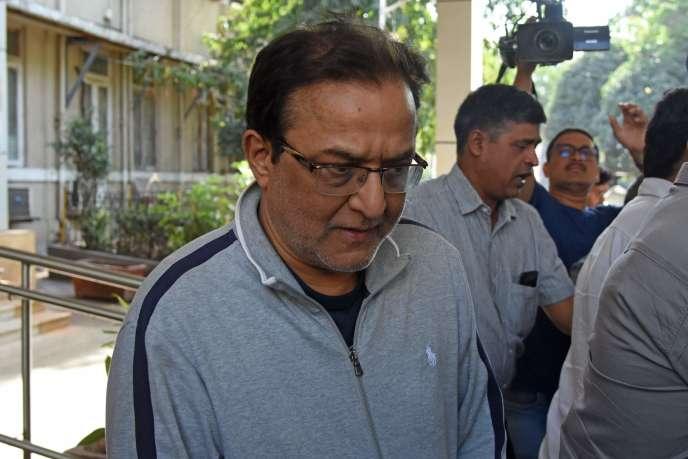 Rana Kapoor, le fondateur de Yes Bank, après son arrestation à Bombay, le 8 mars.