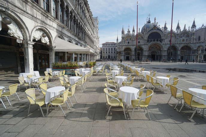 A Venise, le 9 mars.