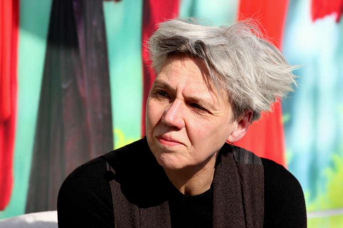 L'écrivaine allemande Esther Kinsky, à Leipzig, en 2016.