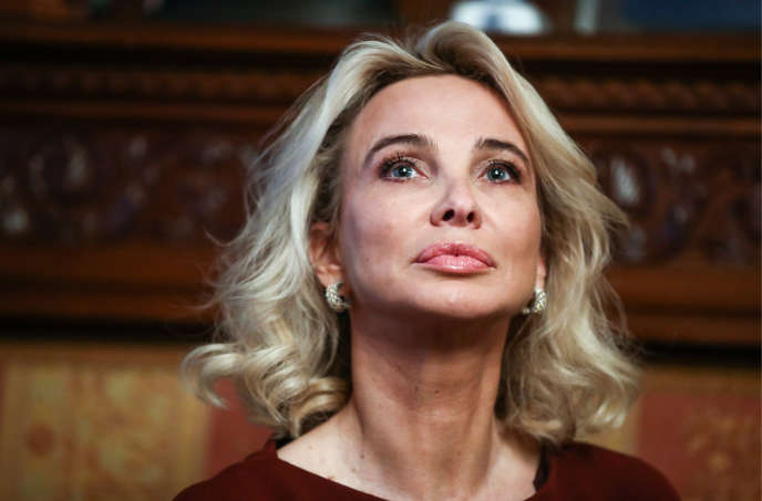 Corinna Larsen, le 1er février 2019, à Moscou.