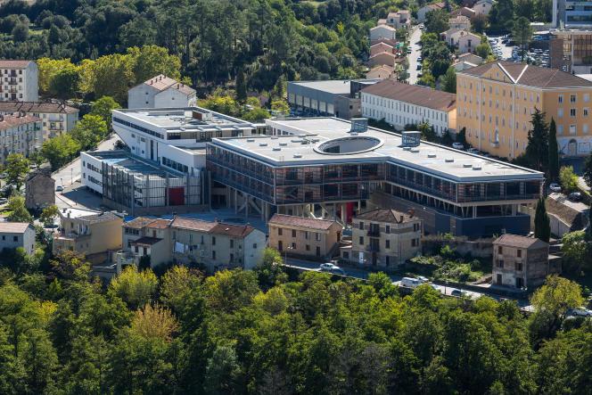 L'université de Corse a suspendu ses cours en présentiel à compter du 9 mars. Ici, le campus Grimaldi àCorte.