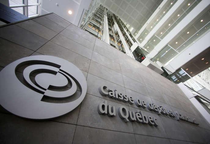 Le siège de la Caisse de dépôt et placement du Québec, à Montréal, en février 2014.