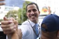 Juan Guaido, à Caracas, au Venezuela, le 10 mars.