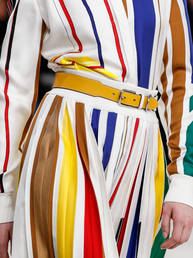 Défilé Hermèsautomne-hiver 2020-2021.