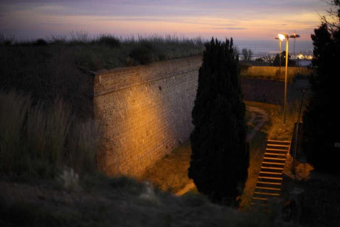 Château du Montjuic, Barcelone, en 2007.