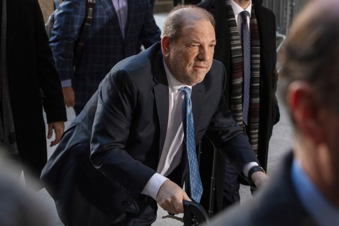 Harvey Weinstein au tribunal de New York, le 24 février.