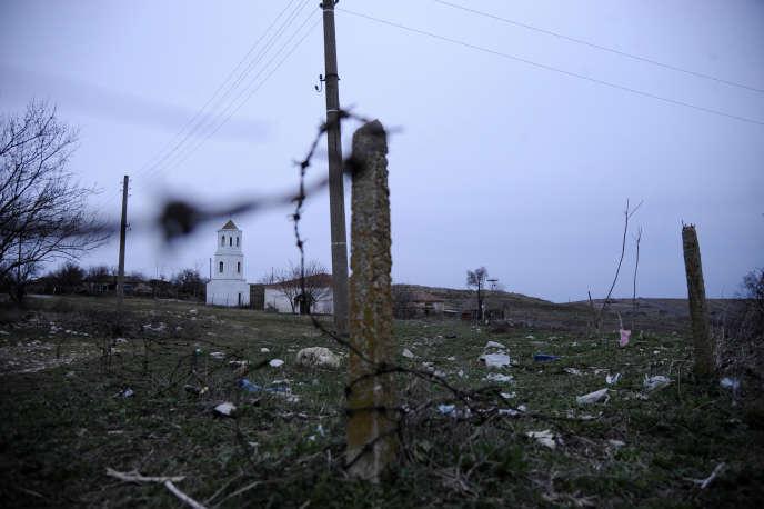 A Shtit, en Bulgarie, près de la frontière turque, en février 2020.