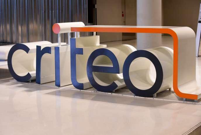 Au siège de Criteo, à Paris, en octobre 2019.