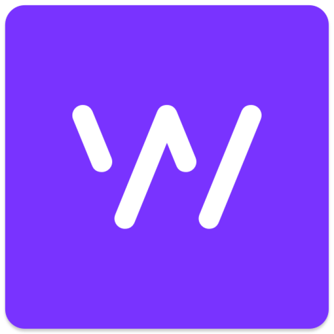 Le logo de l'application Whisper.