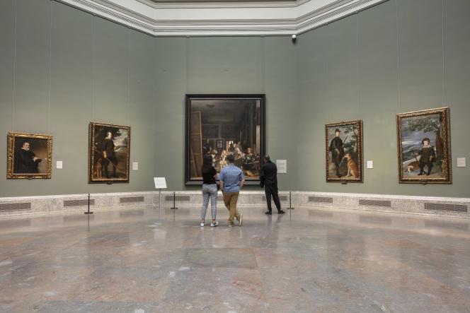 Au musée du Prado, à Madrid, mercredi 11 mars.Le ministère de la Culture a annoncé la fermeture à partir de jeudi et jusqu'à nouvel ordre des musées madrilènes.