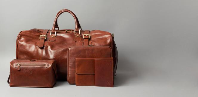 Depuis fin février, la marque britannique Maxwell Scott, qui fabrique tous ses sacs, cartables et autres portefeuilles en Italie, a a vu ses ventes dégringoler de 35 %.