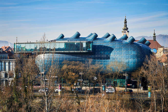 Le Kunsthaus, un musée d'art moderne.