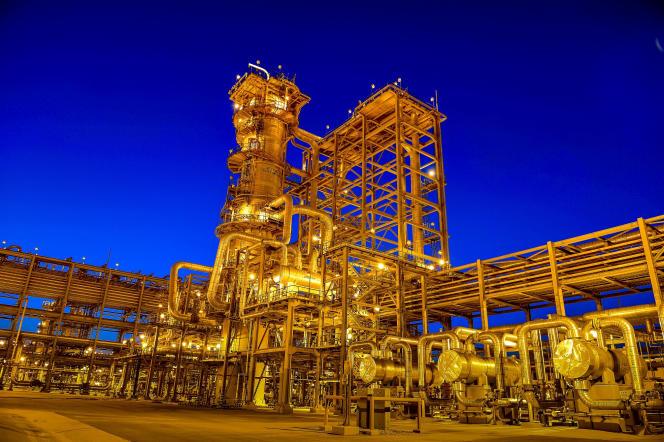Le gisement pétrolier de Manifa, géré par Saudi Aramco, en Arabie saoudite, en 2015.
