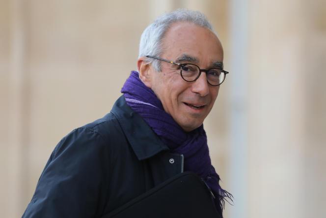 Jean Pisani-Ferry, à l'Elysee, à Paris, en mars 2019.